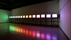 Color Light - installation at the Shizuoka Prefectual Museum of Art.