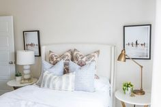Alden Model Master & Guest Bedrooms - House of Jade Interiors Blog