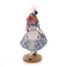 Jim Shore Alice In Wonderland Masquerade Figurine Height: 8 Inches Material: Polyresin Type: Figurine Brand: Jim Shore Item Number: Jim Shore 4050318 Catalog ID: 28226 New With Box. 65Th Anniversary.