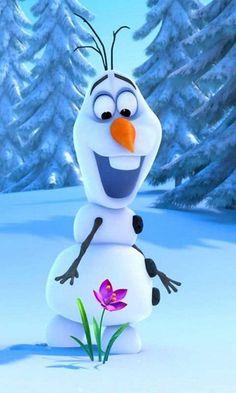 Olaf - Frozen Wallpaper