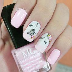 Painted Nail Art, Hand Painted, Pedicure, Nailart, Nail Designs, Nail Polish, Beauty Nails, Instagram Posts, Ideas