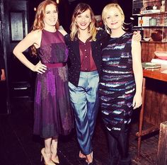 Amy Poehler, Rashida Jones, and Amy Adams