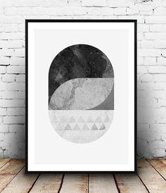 Art Prints, Abstract Art, Minimalist Art, Geometric Art, Scandinavian Art,  Nordic Art, Contemporary Art, Art Poster, Print Giclée, Sun,Dunes |  Geometric Art ...