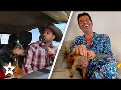 SINGING DOG!? Country Singer Sings With his Dog At Home on AGT 2020   Got Talent Global - YouTube Britain Got Talent, Simon Cowell, America's Got Talent, Country Singers, Singing, In This Moment, Couple Photos, Dogs, Youtube