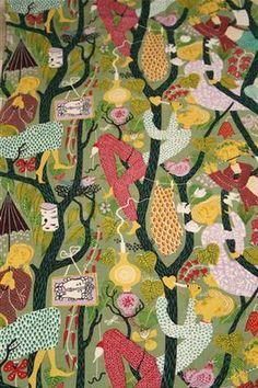 Lindberg (1916-1982) was a Swedish designer (textile, ceramics, industrial, glass), painter and illustrator.