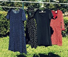 How to re-make a thrift store dress part 1