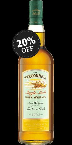 Discover Tyrconnell 10 Year Old Madeira Cask Finish Single Malt Whiskey at Flaviar