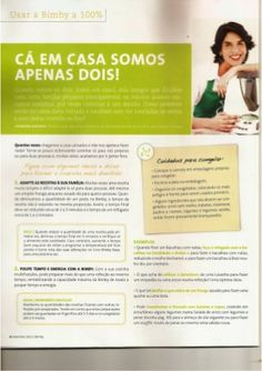 Revista bimby 2011.09 n10 Fails, Illustrated Recipe, Challenges, Recipes, Yogurt, Cook, Single Parent, Did You Know, Thermomix