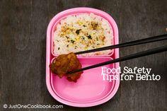 Bento 101 Consejos de Seguridad Alimentaria | Recetas Faciles Japoneses en JustOneCookbook.com