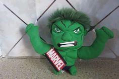 "Incredible Hulk Marvel Superhero 7"" Green Plush 2013 New with Tags #Marvel"