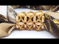 Natali Amapola - YouTube Scarf Rings, Scarf Jewelry, Bead Jewellery, Bead Crafts, Arts And Crafts, Diy Bracelets Easy, Soldering, Tutorials, Brooch