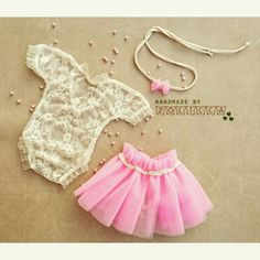 Newborn set /photoprops [] #<br/> # #Romper,<br/> # #Newborns,<br/> # #Baby #Clothes<br/> Baby Kids Clothes, Diy Clothes, Baby Girl Dresses, Baby Dress, Little Girl Fashion, Kids Fashion, Baby Couture, Baby Sewing, Kids Outfits