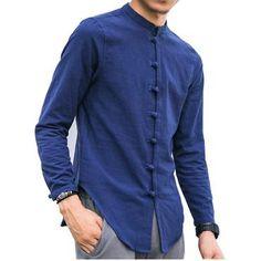 Men's Clothing Friendly Incerun 2019 Casual Men Dress Shirt Cotton Long Sleeve Button Shirts Lapel Neck Cool Business Basic Shirt Men Streetwear Camisa To Reduce Body Weight And Prolong Life