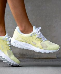 ASICS Gel Kayano Trainer Evo Tender Yellow Sneaker Bar Detroit
