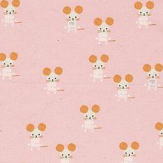 Alexia Abegg : Sunshine : Pink Little Friends : the workroom Sunshine, Friends, Fabric, Pink, Shops, Design, Amigos, Tejido, Tela
