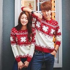 Pattern Couple Sweater from #YesStyle <3 Evolu YesStyle.com
