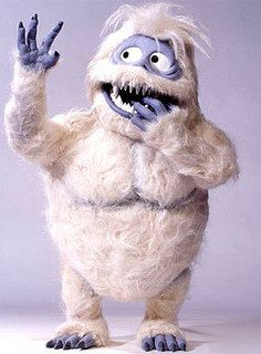 "The Abominable Snowman aka ""Bumble"" from ""Rudolph the Red Nosed Reindeer"""