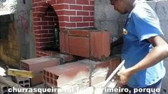 APRENDA A FAZER CHURRASQUEIRA, FORNO E FOGÃO Á LENHA  MAIS BARATO