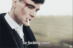 "But we only want him even more. | For Everyone Who Heavy Breathes At The Thought Of Tommy Shelby From ""Peaky Blinders"""
