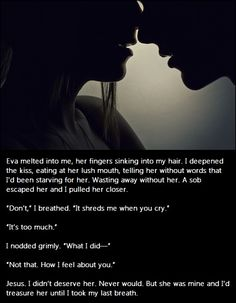 Entwined With You by Sylvia Day (Snippet)  Gideon's point of view?