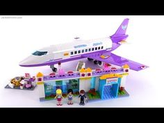 LEGO Friends Heartlake City Airport review ✈️ set 41109 - YouTube