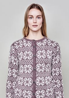 Jæren kofte - Dame Knitting, Vests, Sweaters, Image, Clothes, Fashion, Threading, Outfits, Moda