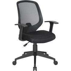 OFM Essentials Series Black-mesh Adjustable Computer and Task Chair - Overstock™ Shopping - The Best Prices on OFM Task Chairs