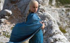 Daenerys Targaryen in season four of Game of Thrones.