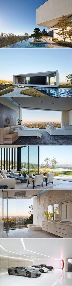 Movie Director Michael Bay's Bel Air Villa - L.A…