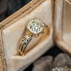 Vintage Engagement Rings   Antique Diamond Rings   EraGem Estate Engagement Ring, Victorian Engagement Rings, Yellow Engagement Rings, Antique Diamond Rings, Wedding Rings For Women, Yellow Gold Rings, Vintage Jewelry, Antique Jewellery, Vintage Rings