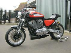 "Racing Cafè: Harley XR 1200 ""Black Angel"" by Shaw Speed & Custom"