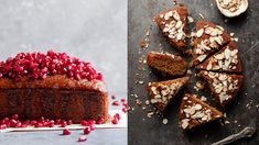 Honey cake is always one of the highlights of Rosh Hashanah. Moist from the addition of applesauce and sticky with . Kosher Recipes, Holiday Recipes, Great Recipes, Passover Recipes, Jewish Recipes, Dessert Salads, Dessert Recipes, Desserts, Dessert