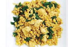 Curried Chicken and Brown Rice