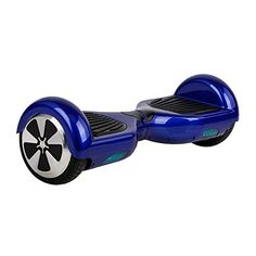 Self Balancing Scooter, Hoverboard, Driftboard, Electronic Scooter, Mini Segway with LED Lights (Blue)