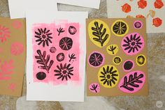 Block printing basics: How to create patterns