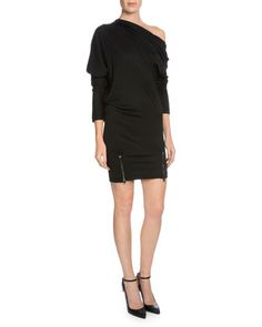 Off-The-Shoulder Sheath Dress, Black by TOM FORD at Neiman Marcus.