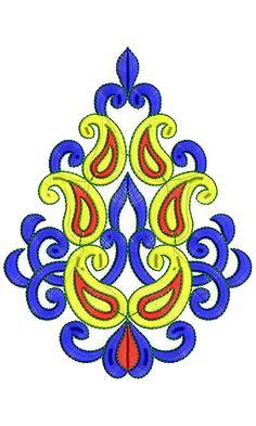 Nuwe styl van die kleurvolle geborduurde chiffon appliekwerk ontwerp embroidery patterns - Appliques exterieures ontwerp ...
