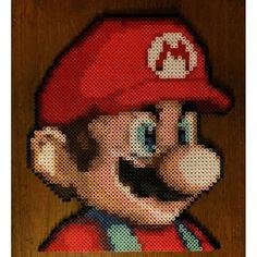Mario -- perler beads by theartestudio