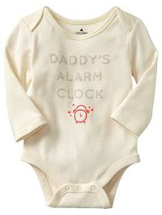 HAVE TO HAVE THIS!! I can't ever wake daddy up. But I know she can!