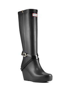 14a68146b2e2 Womans Tall Wedge Rain Boot