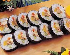 Korean Food | Gimbop | Korean Style Sushi Roll