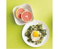 Quick Quinoa and Spinach Saute     Fried Eggs Make Every Meal Better