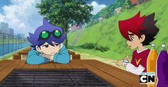Tenkai Knights - Ceylan and Guren