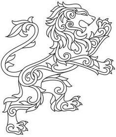 Gilded Heraldry - Lion_image