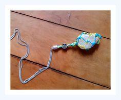 ❁ Colar Energia das Pedras ☮ Quartzo: Energia Cósmica ❋ Handmade ✾ Vendas on-line @kurusgilabohemian