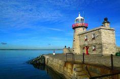 Howth Harbour Lighthouse, Howth, Dublin, Ireland