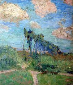 Edouard Vuillard, Le Jardin à Amfreville on ArtStack #edouard-vuillard #art1905-07