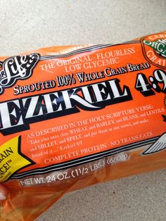 Love Ezekiel bread! Pricey but so worth it.- Benefits of Ezekiel bread.