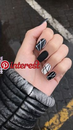 Nail art is a very popular trend these days and every woman you meet seems to have beautiful nails. It used to be that women would just go get a manicure or pedicure to get their nails trimmed and shaped with just a few coats of plain nail polish. Black Nail Designs, Acrylic Nail Designs, Fun Nail Designs, Neutral Nail Designs, Blog Designs, Short Nail Designs, Nail Polish Designs, Solid Color Nails, Nail Colors
