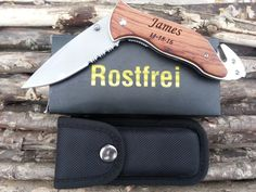 Set of 1 Personalized Knife Survival Laser by JakesCustoms on Etsy
